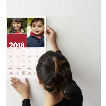 Wall Decal Collage Calendar