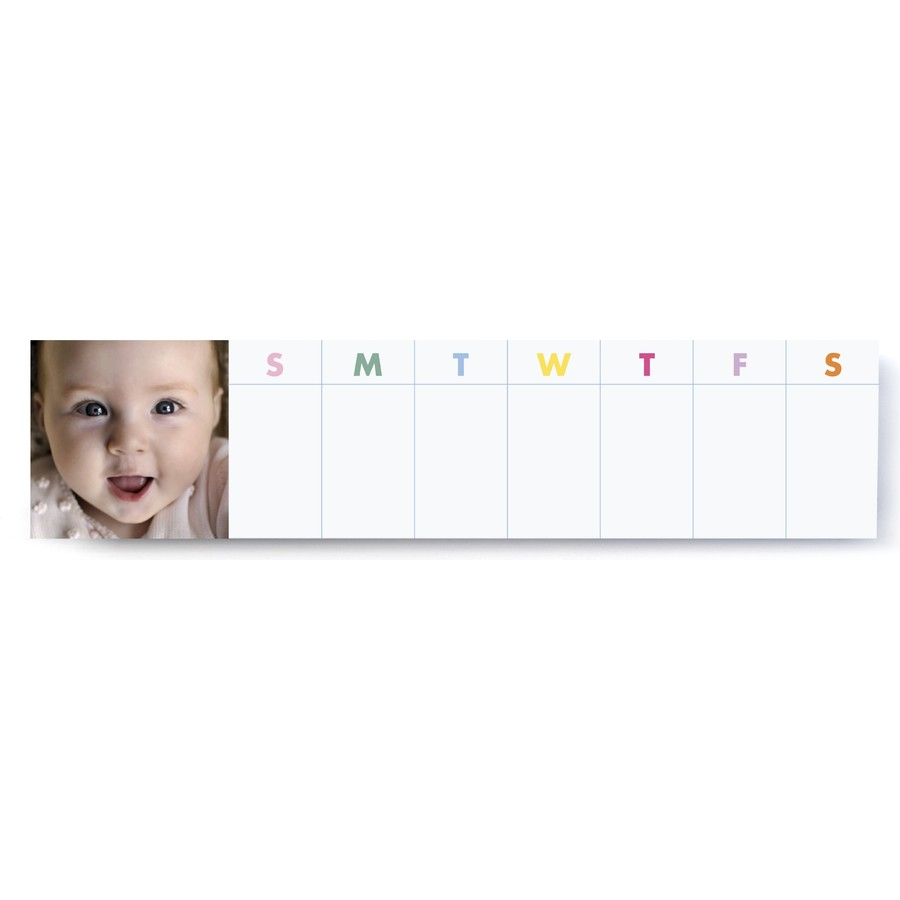 Colorful Magnetic Weekly Notepad