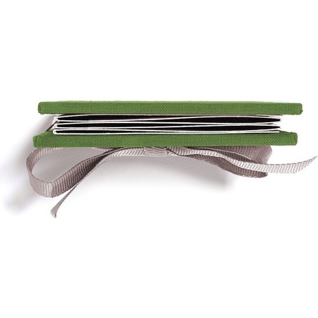 Brag Book with Green Fabric