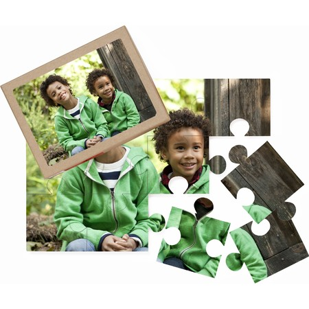 12 Piece Photo Puzzle for St. Patrick's Day