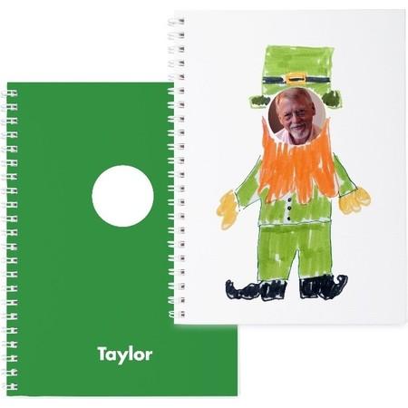 Green Photo Sticker Book St Patrick's Day