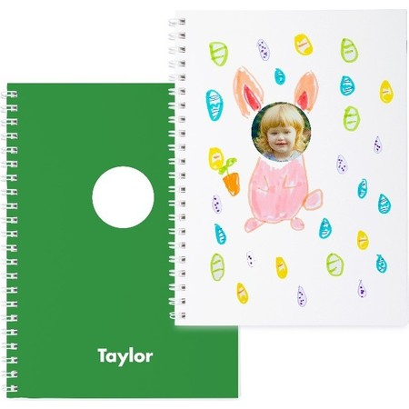 Green Photo Sticker Book for Easter