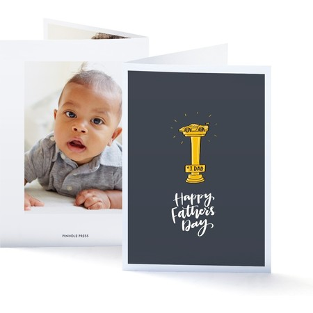 Trophy Father's Day Photo Card