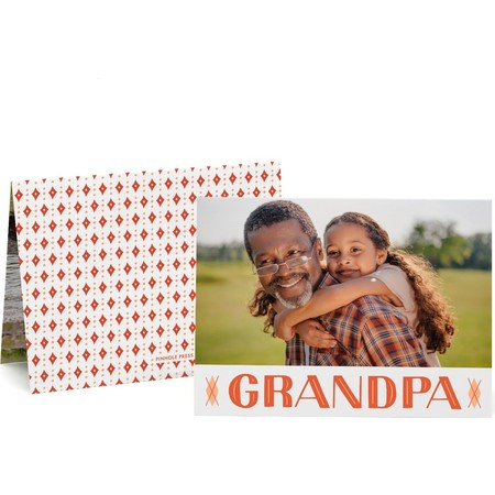 Fathers Day Photo Card for Grandpa