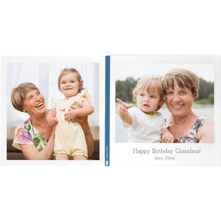 5x5 Petite Photo Book Front and Back Cover
