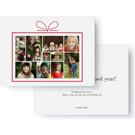 Present Collage Holiday Photo Card