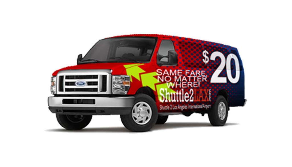 Shuttle2LAX Same $20 Fare No Matter Where Shuttle to LAX
