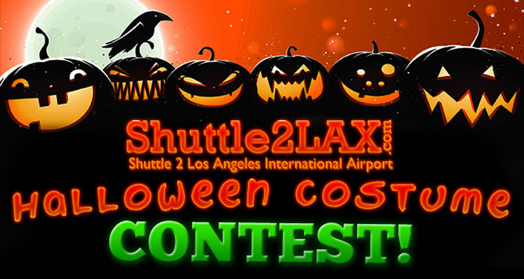 2nd annual halloween costume contest - Shuttle to LAX