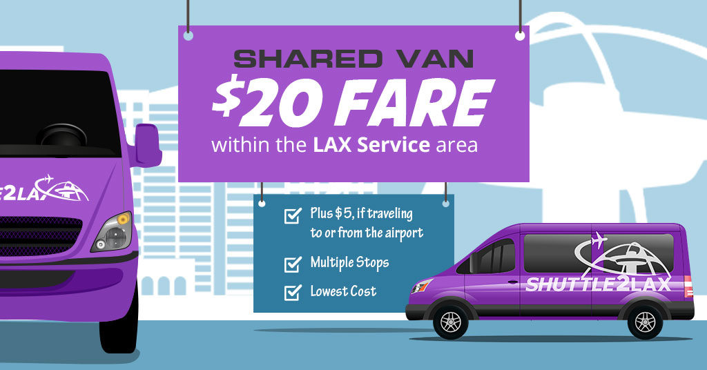 20 Fare Anywhere Is Possible Shuttle To Lax