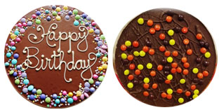 Customized chocolate pizzas buy online in India