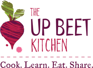 The Up Beet Kitchen logo