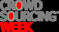 Crowdsourcing Week  logo