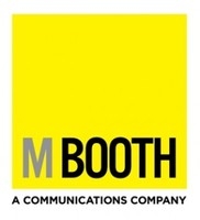 M Booth logo