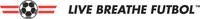 Live Breathe Futbol logo