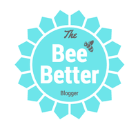 The Bee Better Blogger logo