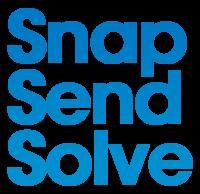 Snap Send Solve  logo