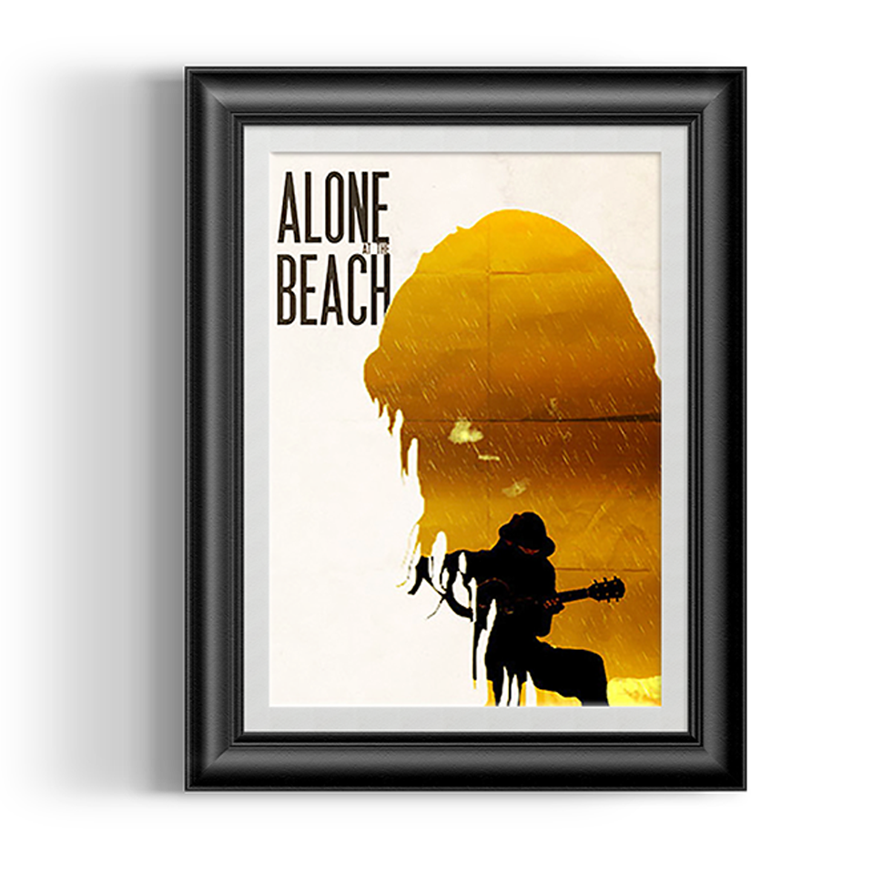 Alone at the beach 2