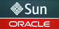 Sun oracle logo