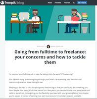 Freepik freelancing article
