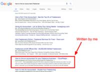 Freelance b2b copywriter blog post 1