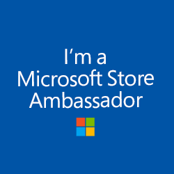 Microsoft  store ambassador logo