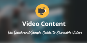 How to create video content the quick and simple guide for social media 800x400