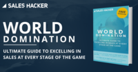 World domination guide sales hacker 1