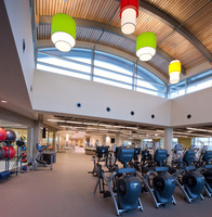 Williams architects carol stream fountain view rec center fitness area