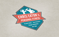 Chris eaton personal fitness logo