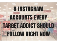 8 instagram accounts every target addict should follow right now