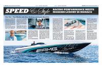 Ww21 mercedes boat