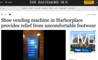 Shoe vending machine in harborplace provides relief from uncomfortable footwear   baltimore sun   2017 03 05 13.11.18