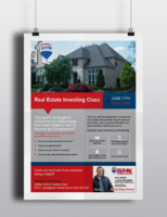 Real estate investing flyer