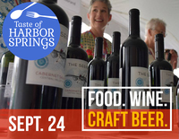 Taste of harbor springs wine bottles fb