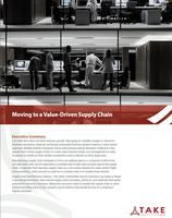 Take value driven supply chain whitepaper coverpage