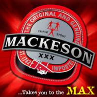 Mackeson branding