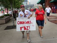 Cardinals fan st. louis post dispatch