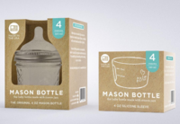 Mason bottle packaging