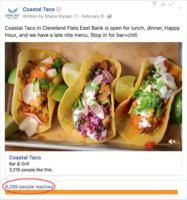 Coastal taco ad    likes