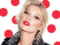 Kate moss red nose day lipstick