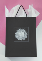 Feels design studio little dame shop brand identity shopping bag