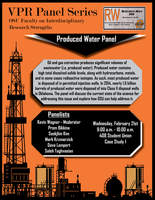 Panel series flyer   produced water