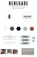 Renegade branding style board copy 2