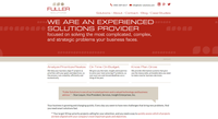 Website content fuller solutions