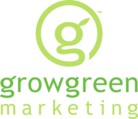 Grow green marketing logo 6