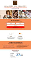 The whole bean landing page design final
