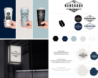 Renegade coffee cup collage