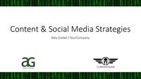 Content   social meda strategies cover
