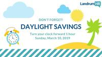 Daylight savings 2
