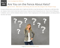 On the fence about keto clip